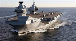 Tàu chiến uy lực nhất Hải quân Anh gặp sự cố rò rỉ, 'một tuần ngập một lần'