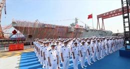 Trung Quốc hạ thủy tàu đổ bộ tấn công nội địa đầu tiên