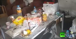 Quân Mỹ rút khỏi Syria trong vội vã, bỏ dở bữa tối đang ăn