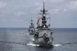 Thấy gì qua sự xuất hiện của tàu chiến Nhật Bản tại Trung Đông?
