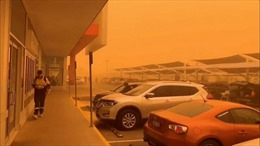 Cảnh tượng bão cát như ngày tận thế bao trùm thị trấn Australia