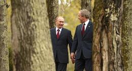 Video Tổng thống Putin vui vẻ nhảy điệu múa dân gian Nga cùng cựu Tổng thống Mỹ