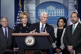 COVID-19: Phép thửkhó khăn nhất đối với Phó Tổng thống Mỹ Mike Pence