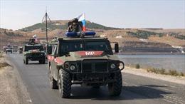 Quân cảnh Nga tiến vào điểm nóng giữa Syria và Thổ Nhĩ Kỳ