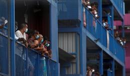 Singapore: Nguy cơ cao mắc COVID-19 tại ký túc cho lao động nhập cư