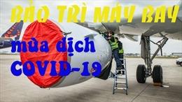 Cách bảo trì máy bay 'đắp chiếu' trong dịch COVID-19