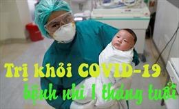 Bác sĩ Thái Lan dùng thuốc kết hợp trị khỏi COVID-19 cho em bé 1 tháng tuổi