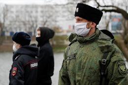 Nga lần đầu công bố số ca mắc COVID-19 trong quân đội