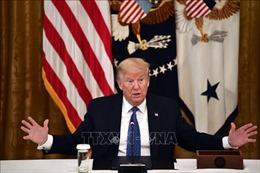 Người biểu tình vây Nhà Trắng, Tổng thống Trump được đưa xuống boong-ke ngầm trú ẩn
