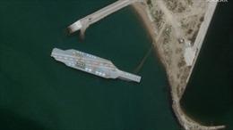 Iran sửa mô hình tàu sân bay Mỹ, sẵn sàng cho tập bắn