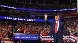 Tổng thống Trump đưa nhóm vận động tranh cử năm 2016 'tái xuất'