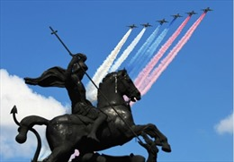 Những hình ảnh ấn tượng trong lễ duyệt binh 75 năm Ngày Chiến thắng tại Nga