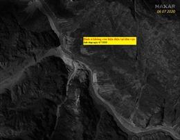 Ảnh vệ tinh chứng thực Trung Quốc lui quân 2 km khỏi khu vực xung đột với Ấn Độ
