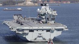 Anh dự định điều tàu sân bay mới tới châu Á-TBD giữa căng thẳng với Trung Quốc