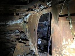 Hình ảnh chiến hạm tỷ đô của Mỹ hóa sắt vụn sau 4 ngày bốc cháy dữ dội