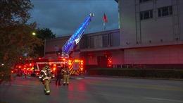 Hỏa hoạn tại Tổng Lãnh sự quán Trung Quốc ở Houston (Mỹ)