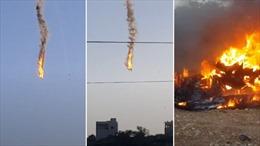 Hai máy bay không người lái Mỹ va chạm trên không, bốc cháy ngùn ngụt ở Syria