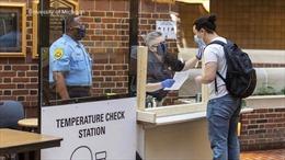 Nhiều trường đại học Mỹ ghi nhận số ca COVID-19 tăng vọt sau khi mở cửa lại