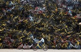 Lời kêu cứu từ 'nghĩa địa' xe đạp chia sẻ ở Trung Quốc