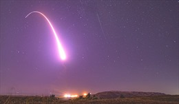 Xem Không quân Mỹ phóng thử tên lửa đạn đạo liên lục địa 50 tuổi