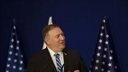 Ngoại trưởng Mỹ Mike Pompeo tới thăm khu định cư ở Bờ Tây