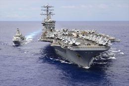 Mỹ tính rút tàu sân bay duy nhất khỏi Trung Đông giữa căng thẳng với Iran