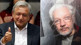 Tổng thống Mexico đề nghị cấp tị nạn cho người sáng lập WikiLeaks