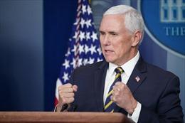 Phó Tổng thống Pence nói không thể ngăn Quốc hội xác nhận kết quả bầu cử