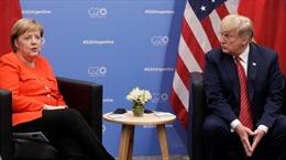 Thủ tướng Đức không đồng tình với Twitter chặn Tổng thống Trump