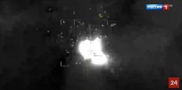 Nga lần đầu công bố video UAV thổi bay mục tiêu khủng bố tại Syria