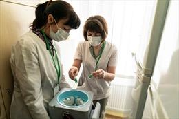 Ukraine chật vật tìm người để tiêm vaccine ngừa COVID-19