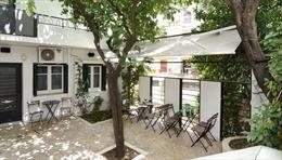 Mô hình vườn trong phố ở thủ đô Hy Lạp