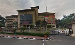 Nổ súng tại trụ sở cảnh sát quốc gia Indonesia