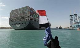 Cuộc chiến pháp lý tìm người bồi thường sự cố kênh đào Suez có thể mất nhiều năm