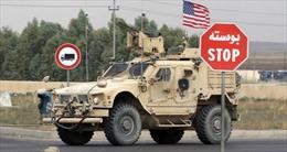 Mỹ triển khai binh sĩ trang bị vũ khí tới căn cứ bên trong giếng dầu Syria
