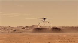 Trực thăng của NASA sống sót qua đêm băng giá đầu tiên trên sao Hoả