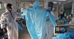 Đường dây lừa đảo 'tuồn'đồ bảo hộ đã qua sử dụng vào các bệnh viện Ấn Độ