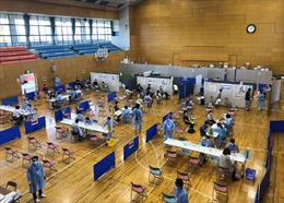 Thành phố Nhật Bản ứng dụng bài học sóng thần trong chương trình tiêm chủng
