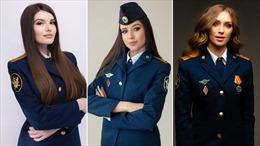 Nhan sắc bùng nổ của các người đẹp trong cuộc thi 'Hoa hậu Quản ngục Nga'