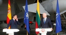 Báo động về máy bay Nga làm gián đoạn bài phát biểu của Thủ tướng Tây Ban Nha