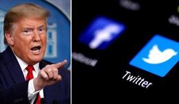 Sau Twitter, đến lượt Facebook đóng tài khoản của Tổng thống Trump