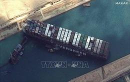 Hãng bảo hiểm của tàu Ever Given quy một phần lỗi cho Cơ quan quản lý Kênh đào Suez
