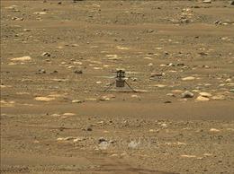 Trực thăng Ingenuity di chuyển xa hơn trong chuyến bay thứ 3 trên Sao Hỏa