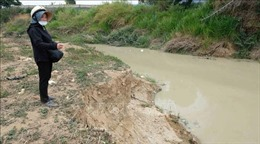 Nông dân kêu cứu vì nguồn nước bị ô nhiễm do doanh nghiệp khai thác cát