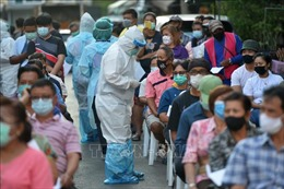 Thái Lan ghi nhận số ca mắc COVID-19 mới cao nhất trong 2 tháng qua