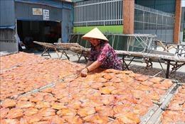 Nghề cá khô truyền thống giúp nhiều nông dân cải thiện thu nhập