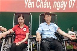 Nữ cán bộ tiêu biểu trong phong trào hiến máu tình nguyện