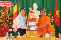 Cần Thơ:Chúc mừng Tết cổ truyền Chôl Chnăm Thmây của đồng bào Khmer