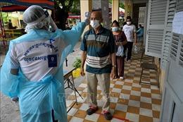 'Hạ nhiệt' tại Phnom Penh nhưng dịch vẫn lây lan các tỉnh khác của Campuchia