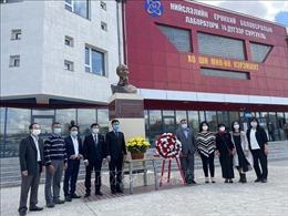 Thầy và trò Trường Hồ Chí Minh ở Mông Cổ nguyện xứng đáng với niềm vinh dự được mang tên Người